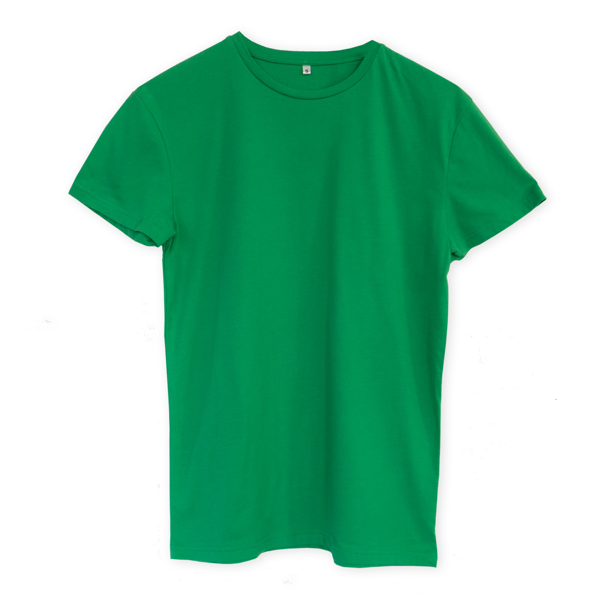T-shirt men green
