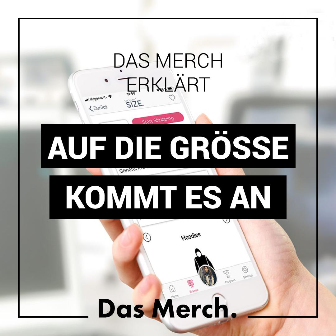 Blog-Post 04: Auf die Größe kommt es an! - Das Merch.